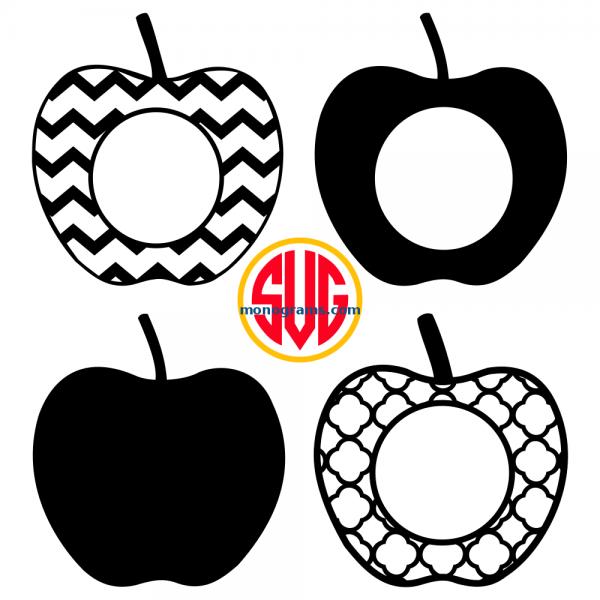 Apple and Apple Monogram Frames Files